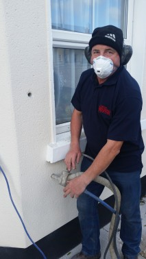 Pumping the Cavity Wall